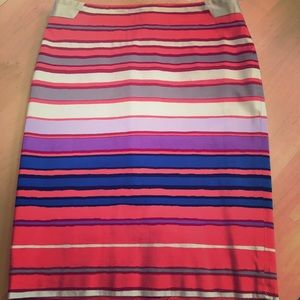 Striped lines skirt